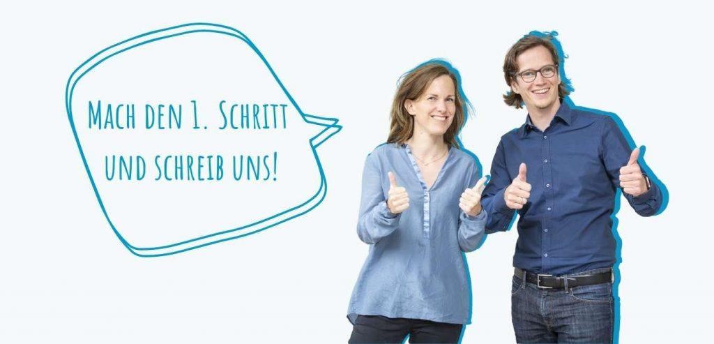 Kontaktaufnahme Anne und Ulf